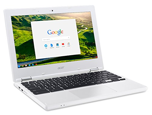 Compare Prices for Acer Chromebook 11.6 inches Laptop CB3-131 Intel Celeron N2840 2 GB  16GB EMMC Chrome  White Review