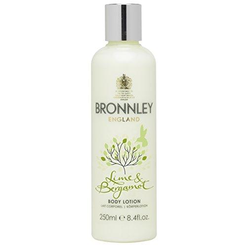 Bronnley Lotion Pour le Corps 250ml, Collection Agrume Citron Vert et Bergamote