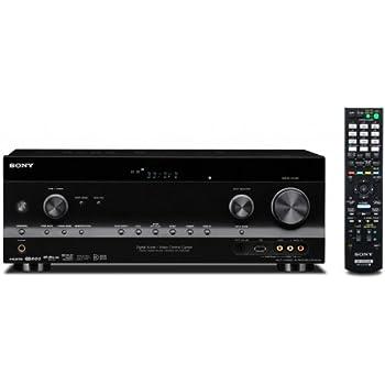Sony STRDH730 7.1-Kanal Surround Receiver (3D-fähig, 5 HDMI-Eingänge, 1 HDMI-Ausgang, 1080i Faroudja-Upscaling)
