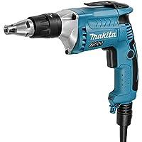 Makita FS6300R Atornillador con Tope Profundidad 570W 6000 RPM 1.4 Kg Embrague Silencioso, 570 W, 220 V, Azul, 0
