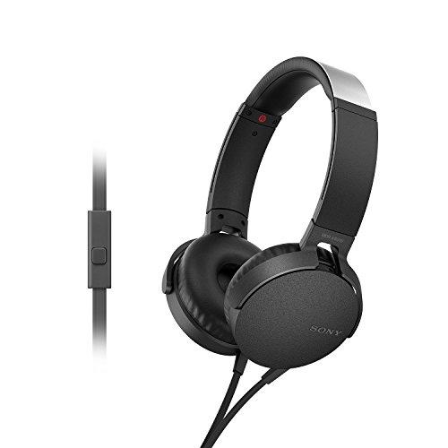 Sony-MDR-XB550AP-On-Ear-Headphones-with-Mic