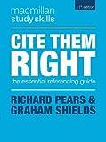 Cite Them Right (Macmillan Study Skills)