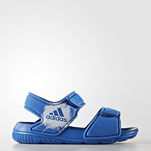 Adidas Altaswim i, Infradito Unisex - Bambini, Blu (Azul/Ftwbla/Ftwbla), 19 EU