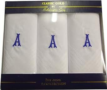 Initial Handkerchiefs - A