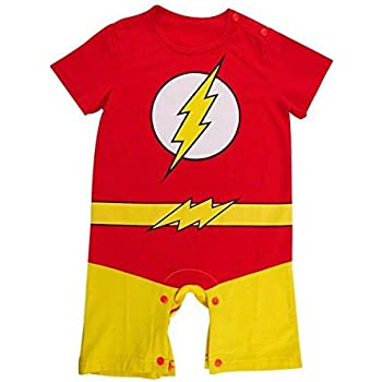 The Flash Inspired Infant Outfit 0 6 Months Amazon Co Uk Baby