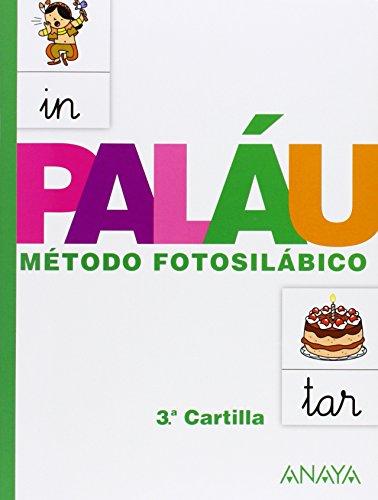 Método fotosilábico: 3.ª Cartilla. - 9788467832327 por Antonio Paláu Fernández