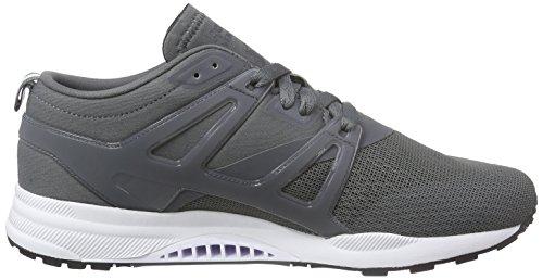 Reebok Ventilator Adapt, Chaussures de Course Homme Gris - Grau (Alloy/White/Black)