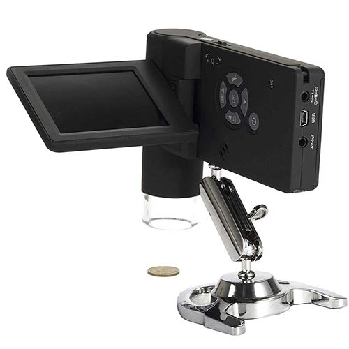 LCD Digital Microscope Portable Industrial Handheld 1200x HD Digital Digital Microscope for Capture of Video and Images