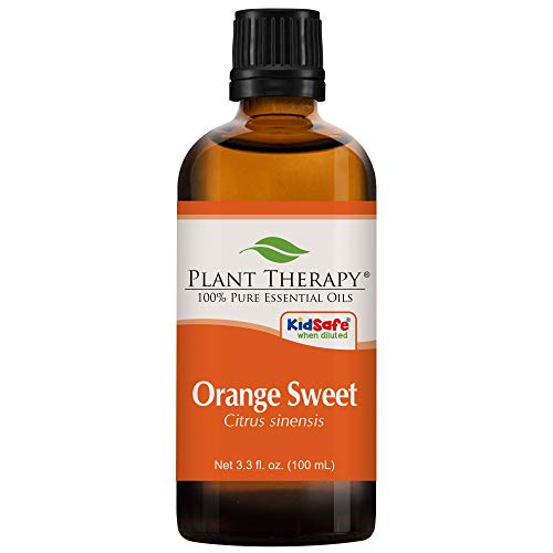 Plant Therapy Orange Sweet Essential Oil | 100% Pure, Undiluted, Natural Aromatherapy, Therapeutic Grade | 100mL (3.3oz)