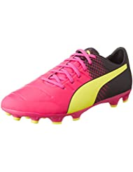 Bota evoPower 2.3 AG Tricks Pink glo-Safety yellow-Black Talla 8 UK