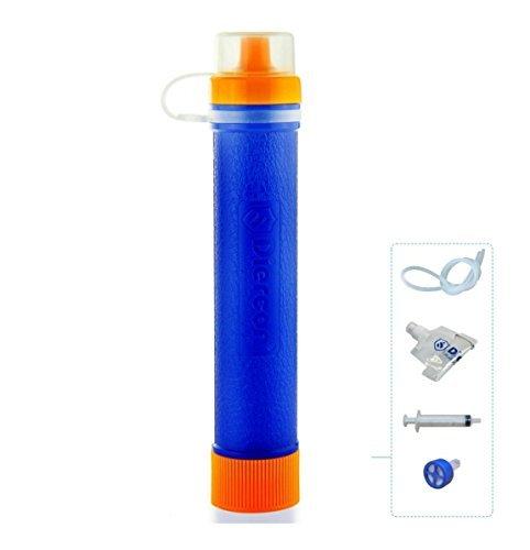 GEERTOP Persönlicher Mini Outdoor Tragbarer Wasserfilter Wasseraufbereitungssystem Wasseraufbereitung 1500L (60g)