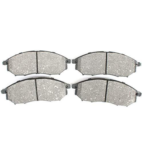 Kit pastiglie freno a disco asse anteriore per Murano, NP300 Navara, Pathfinder, Qashqai +2 I, Koleos I, BB08140