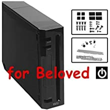 FB093761BK-B Replacement Housing Shell Case (Full Kit, Black) for Nintendo Wii by Nintendo / Wii