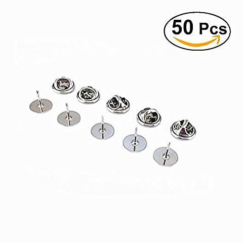 ROSENICE Nadeln Pins Set Badge Pin Anstecker für DIY Schmuck Brosche 50pcs