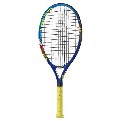 Head Novak Raqueta de Tenis, Infantil, Azul, 25-Inch (8-10 Years)