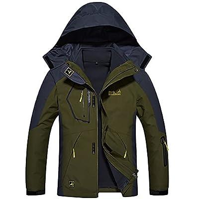 Softshelljacke 3 in 1 Jacke Winter Doppeljacke Wasserdicht Atmungsaktiv Outdoor Funktionsjacke Herren Damen Skijacke