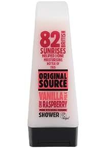 Original Source Vanilla Milk and Raspberry Shower Gel, 250ml