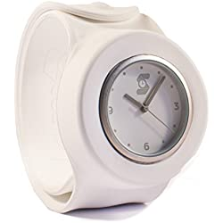 Original White Slappie Slap Watch (BBC Dragons Den Winner) Adults/Kids Size Large