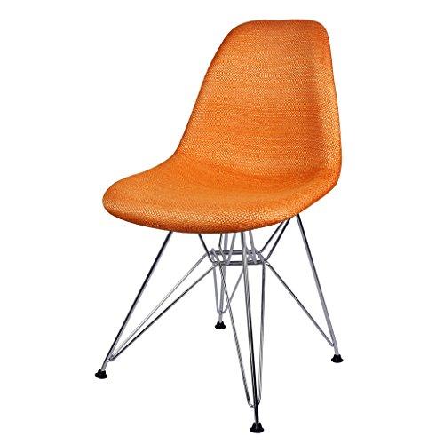 C&S Cloth Art Rückenlehne Stühle Casual Coffee Stühle Konferenztische Hocker Verdickung Eisen...
