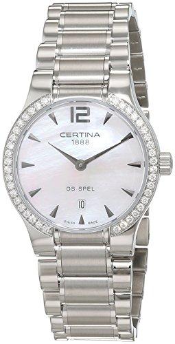 Certina Montre bracelet Femme XS à quartz analogique en acier inoxydable c012.209.61.117.00
