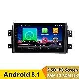 9 Zoll Android 8.1 Auto DVD Player GPS für Suzuki SX4 2006 bis 2012 2013 Audio Autoradio Stereo Navigator mit Bluetooth WiFi