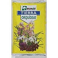 Bures B31391 Tierra para orquídeas 5 l, Amarillo, 35x25x4 cm