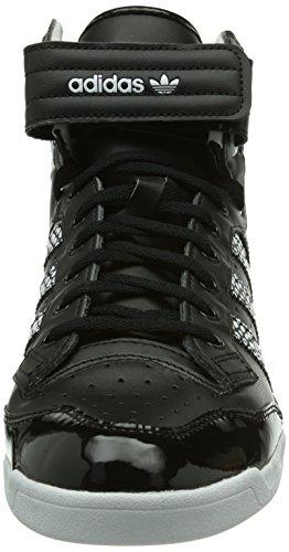 adidas Originals Centenia Hi W, Baskets mode femme Noir - Schwarz (Core Black/White/Core Black)