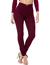 Amazon.co.uk: Red - Jeans / Women: Clothing