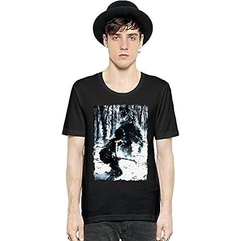 Tomb Raider Bear Manica corta da uomo T-shirt