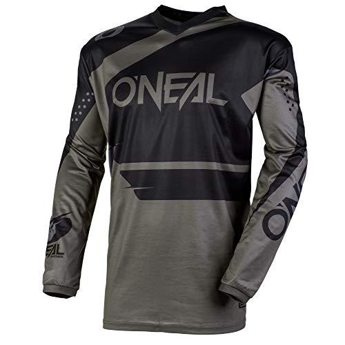 O\'Neal Element Racewear FR Jersey Trikot lang grau/schwarz 2020 Oneal: Größe: XL (56/58)