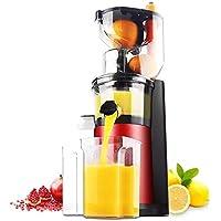 AWYILUFA Exprimidor Lento Masticar Exprimidor Máquina Fría Prensa Exprimidor Alta Nutrientes Frutas Y Verduras Jugo Fácil