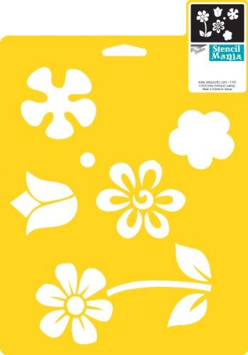 delta-creative-stencil-mania-stencil-7-by-10-inch-970060710-flowers