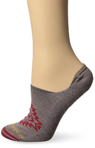 Pendleton Frauen versteckten No Show Socken, damen, Star Hero - Khaki (Smartwool Socken Frauen Wandern)