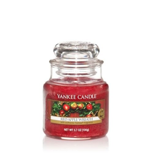 Yankee Candle Duftkerze Housewarmer Red Apple Wreath (104g) (Red Yankee Candle Apple Wreath)