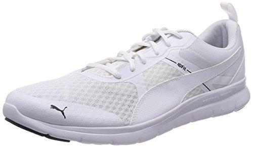Puma Unisex-Erwachsene Flex Essential Sneaker, Weiß White, 37.5 EU