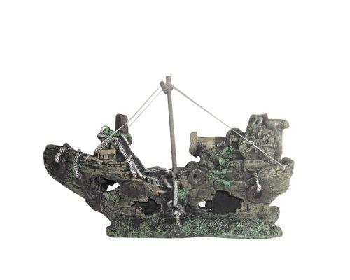 Galeone grande - Relitto di imbarcazione, per abbellire il fondale del tuo acquario