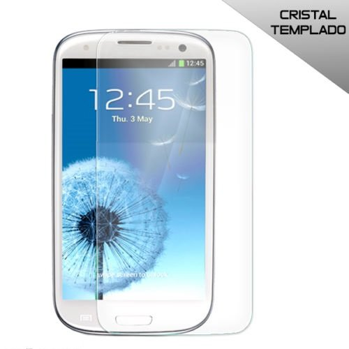 Kde - Protector de Pantalla Cristal Templado antigolpes para Samsung Galaxy s3 i9300 tuprecionline®