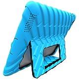 iPad 3 - Gumdrop Hideaway with Stand - Blue - Black
