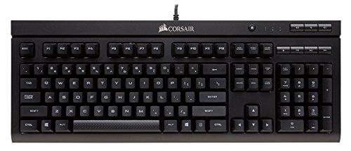 Corsair K66 - Teclado mecánico Gaming (Cherry MX Red, retroiluminación LED roja,...