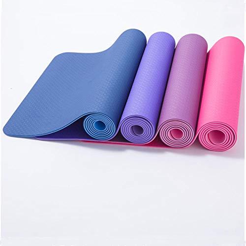 xtian Dicke rutschfeste Yogamatte Fitnessmatte Dicke rutschfeste tpe9mm Yogamatte Gymnastik Matte, rutschfest, umweltfreundlich, hypoallergen und hautfreundlich, ideal für Yoga,