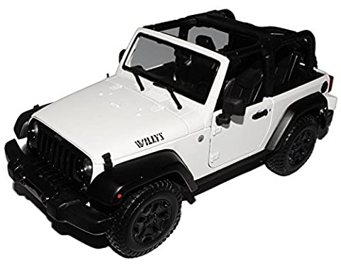 Jeep Wrangler 2014 Willis Weiss Cabrio JK Ab 2007 1/18