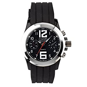 Eton 3018G-BK – Reloj para Hombres Color Negro