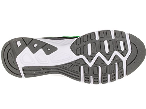 Nike Air Relentless 5 Scarpe da ginnastica, Uomo Nero/verde/grigio/bianco (Black/Vltg Green-Cl Gry-White)