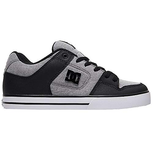 DC Shoes Pure SE M Shoe GRH Skate Uomini Grigio/Nero - 42 - Scarpe da Skate