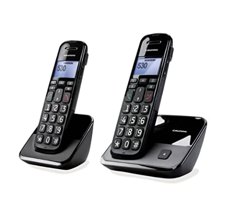 Sagemcom Gurndig D530 Duo schnurloses DECT Telefon (2-er Set)