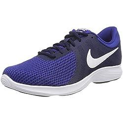 Nike Revolution 4 Eu-aj3490, Zapatillas de Running para Hombre, (Midnight Navy/White/Deep Royal Blue 414), 44 EU