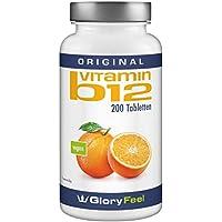 Der Vitamin B12 VERGLEICHSSIEGER 2018* - 1000µg 200 vegane Tabletten - B12 trägt zur Verringerung von Müdigkeit bei - Laborgeprüft und ohne unerwünschte Zusätze hergestellt in Deutschland