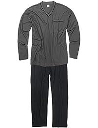 Adamo Fashion XXL Pijama en gris oscuro