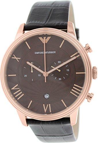 emporio armani ar Emporio Armani Uhrband LB-AR1616 Lederband AR 1616 Lederarmband