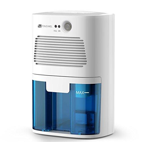 Deumidificatore termoelettrico di touchxel | 1080 piedi cubi, compatto e portatile contro muffa e odore di umidità in ambienti piccoli, come armadio lavanderia, bagnetto, sala computer, ufficio